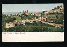 Spain Gran Canaria LAS PALMAS Used 1908 u/b PPC