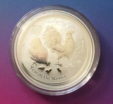 1/2 oz Perth Mint Year of the Rooster 2017 - Lunar Rooster