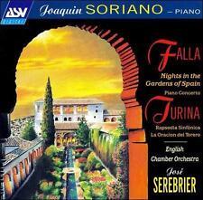 Falla: Nights in the Gardens of Spain; Piano Concerto; Turina: ASV audiophile