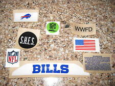 Buffalo Bills  20 mil 3M vinyl full size football helmet decals