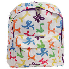 FUNKY BALLOONIES BALLOON ANIMALS DESIGN BACKPACK RUCKSACK SCHOOL BAG