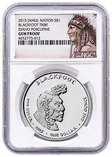 2015 W 1 oz Proof American Silver Eagle $1 NGC PF69 UC SKU33969