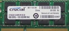 8 GB de RAM para Apple iMac 2.7 GHz Intel Quad-Core i5 (21,5 Y 27 pulgadas-DDR3) Mid 2011