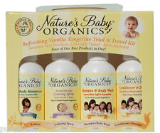 Nature's Baby Organics Vanilla Tangerine Trial & Travel Kit - Natural/Organic