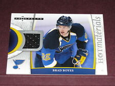 Hockey Fleer 07-08 Hot Prospects Materials / Brad Boyes GU Jersey Sabres - Blues