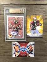 (3) Robert Griffin III Rookie Card Lot 2012 Topps Magic BGS 9.5 Prime Bowman Rc