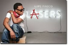 Rap Hip Hop R&B Lupe Fiasco Lasers Poster Print 22x34 New Fast Free Shipping