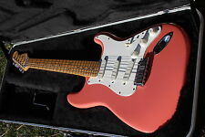 L😎😎K. 🎸🎵🎸 Fender Stratocaster Plus Dusty Rose 1988. W😎W