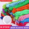 "30yard 1/4"" Multicolor Satin Elastic Band Sewing Trims DIY Sew Craft Accesor ez"