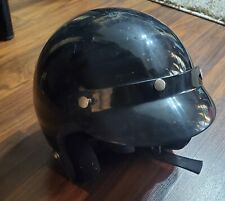 DOT Approved Motorcycle Half Helmet Chopper Cruiser Scooter Safe ABS Cap Size L