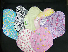 Little Bee Creations Cloth Menstrual Mama Pad Small Starter Set: you pick fabric