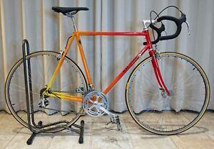 Vintage Road Bike 60 CM / Custom Frame / Custom Paint / Campagnolo / Unique!