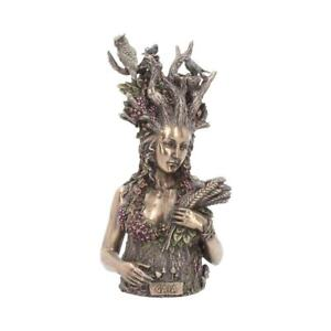 GAIA BUST 26cm Nemesis Now Mother Earth Statue Mythology Wicca Pagan FREE P+P
