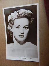 Picturegoer Film Star postcard W86 Betty Grable   unposted  .