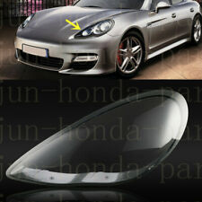 Left Side Lucency Headlight Cover With Glue For Porsche Panamera 2010-2013