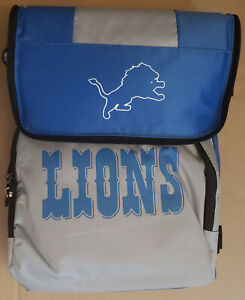 Detroit Lions 18 Can Soft-Sided Cooler with Carry Strap Classic Logo NFL NEW