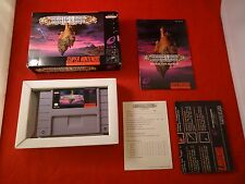 Brain Lord Super Nintendo 1994 SNES COMPLETE w/ Box manual game WORKS! Brainlord