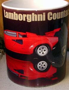 Lamborghini Countach LP500 400 TRIBUTE CERAMIC  MUG