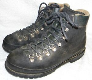 RAICHLE, made in Switzerland, vintage mountaineering/hiking boots, sz. 7.5M