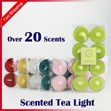 Scented Tea Light Tealight Candles 3.5 / 4 Hour Burn Scent Candle Wedding Party