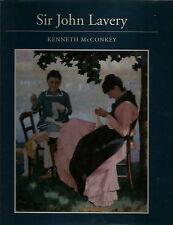 SIR JOHN LAVERY ART MONOGRAPH BY MCCONKEY 1993 1ST ED. ART BOOK GLASGOW BOYS