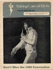 Elvis Presley Fan Club Magazine Feb/Mar 1980