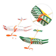 2pcs Glider Model Durable Aircraft Model Glider Materials Educational Toy