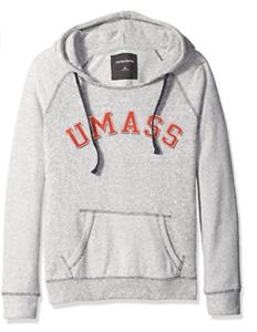 Camp David NCAA Massachusetts Minutemen Women's Reverse Sleeve Pocket Hoodie, M