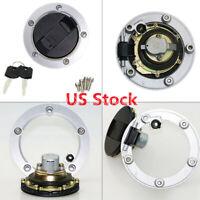ZOYOSI Ignition Switch Lock /& Fuel Gas Cap Key Set For Suzuki GSX1300R Hayabusa 99-07