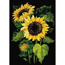 RIOLIS Diamond Mosaic Embroidery 5D Painting SUNFLOWERS Squares Full Drill