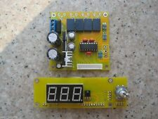 HIFI PGA2311 preamp board volume control + aluminum remote / 4 way input