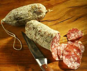 Salame Nostrano - Italienische Salami - Spezialität aus Lana/Südtirol - 2er-SET