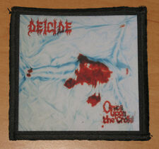 """DEICIDE """"ONCE UPON THE CROSS"""" silk screen PATCH"""