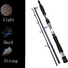 Silver-Rhino Saltwater Rod Graphite 30-50 Lb Spinning Travel Jigging Rod 6ft 7ft