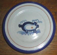 """LOUISVILLE STONEWARE 8"""" Hog Wild Pig Salad PlateS (2)  PO1"""