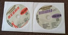 2 CDG DISCS FEMALE KARAOKE LOT HITS OF RIHANNA AND KESHA FAST TRAX CD+G TEEN POP