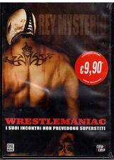 dvd - REY MISTERIO WRESTLEMANIAC