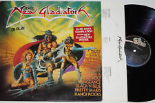 The New Gladiators - (Pretty Maids, 220 Volts, vengeance...) LP + POSTER