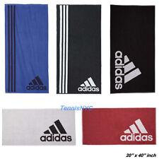 "ADIDAS Sports Towel 20"" x 40"" Tennis Basketball Baseball Golf Running Gym Cycle"