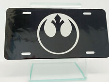 Rebel Alliance Logo Star Wars License Plate High Gloss