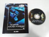 LA LEYENDA DE LA CASA DEL INFIERNO DVD + LIBRO + EXTRAS ESPAÑOL ENGLISH TERROR
