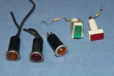 5 Assorted  Panel Mounted Indicator Warning Lamps                    #5
