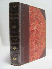 Jane Austen 'MANSFIELD PARK' ~ 1892 ~ 1/2 Leather ~ Athenaeum Society Edition