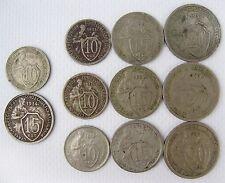 coins 10 15 kopecks 1934 Rare Konros С33/4  10 15 20 kopecks 1931 1932 1933 USSR
