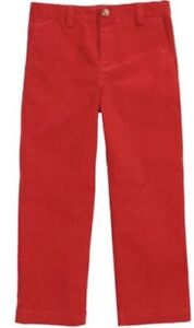 NWT VINEYARD VINES Boys Young Mans Red Breaker Corduroy Pant Size 18 30x28 $55