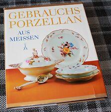 GEBRAUCHS PORZELLAN AUS MEISSEN / GUNTHER STERBA / CRAFT PORCELAIN KUNST / BOOK