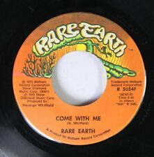 Soul 45 Rare Earth - Come With Me / Hum Along And Dance On Rare Earth