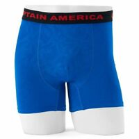 Civil War Men's Marvel Movie Captain America Boxer Briefs