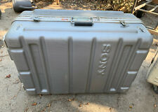 Sony flight case; camera or other equipment; sturdy, lightweight, without foam