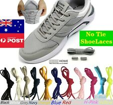 No Tie Elastic Shoelaces Easy Shoe Laces for Adult Kids Sneaker Runner Colorful